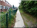 SE4922 : Footpath behind Windermere Drive by Christine Johnstone