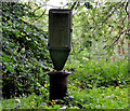 J3067 : Post and box, Dixon Park, Belfast by Albert Bridge