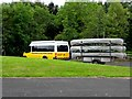 C8530 : Van with canoes, Somerset Park by Kenneth  Allen