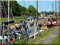 TR0161 : Music on Faversham Creek by pam fray
