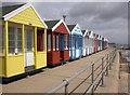 TM5176 : Beach huts, Southwold : Week 25