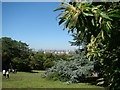 TQ3877 : Panorama from the hill in Greenwich Park #2 by Robert Lamb