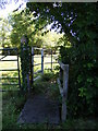 TL2664 : Footpath to Barnfield Lane by Adrian Cable