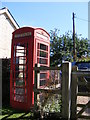 TL2664 : Papworth St.Agnes Telephone Box by Adrian Cable