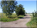 TL2865 : Footpath to the A1198 Ermine Street by Adrian Cable