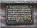 Photo of Black plaque number 7589