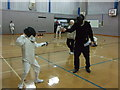 SJ9497 : Parry and Thrust - Manchester Junior Open Fencing Championships  2010 (2) by Richard Hoare