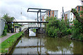 SJ8947 : Ivy House Lift Bridge east of Hanley, Stoke-on-Trent by Roger  Kidd