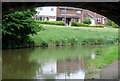 SJ8948 : Canal and housing near Northwood, Stoke-on-Trent by Roger  Kidd