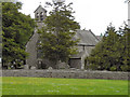 NY9913 : St Giles' Church, Bowes by David Dixon