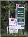 TL7066 : Kennett Park Development signs by Adrian Cable