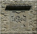 SP4726 : Datestone on the village hall, Steeple Aston by Humphrey Bolton