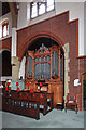 TQ3292 : St Aldhelm, Silver Street, Edmonton - Organ by John Salmon