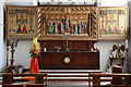 TQ2385 : St Gabriel, Walm Lane, Cricklewood - Sanctuary by John Salmon