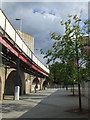 TQ3875 : Piazza near Lewisham Station by Malc McDonald