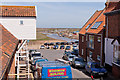 TG0244 : Looking seawards down Blakeney High Street by Peter Facey