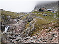 NN1672 : Approaching the CIC mountaineering hut in Coire Leis by Peter