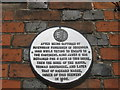 TR0161 : Plaque on No.18 Court, Faversham by David Anstiss