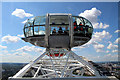 TQ3079 : Top of the World, London Eye, London SE1 by Christine Matthews