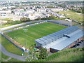 NS4074 : Dumbarton F.C. football ground by John Ferguson