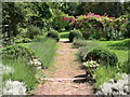 TL8422 : The garden at Paycocke's House, Coggeshall by nick macneill
