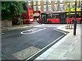 TQ2379 : Traffic calming, Blythe Road by Alex McGregor