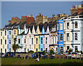 J5182 : Terraces, Bangor by Rossographer