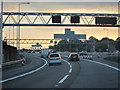 TL1103 : Slip road on the M25 by Oast House Archive