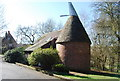 TQ5940 : Oast house in Hilberts Recreation Ground by N Chadwick