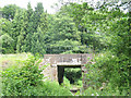 TQ5538 : Rail underpass by Stephen Craven