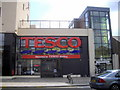 TQ4675 : Entrance to Tesco in High Street, Welling by PAUL FARMER