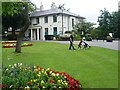 Dist:0.1km<br/>Springfield Park was formed in 1905 from the grounds of three private houses, of which one, the White Lodge (or �Springfield House�), dating from the 19th century, survives in the south-west corner of the park. Seen here, the White Lodge now houses Spark Cafe which includes a garden for sitting out. Springfield Park itself provides fine views across the Lea Valley and Walthamstow Marshes.