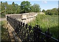 SP2852 : Bridge over lake, Walton Hall by Derek Harper
