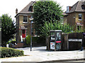 TQ4077 : Phone box on Humber Road by Stephen Craven