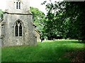 TL5728 : The churchyard, St. Mary's, Chickney, Essex by nick macneill