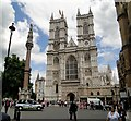 TQ2979 : West Front, Westminster Abbey by Philip Pankhurst