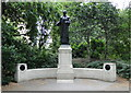 TQ3079 : Memorial to Emmeline Pankhurst by Philip Pankhurst