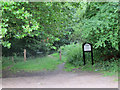 TQ4498 : Entrance to Epping Forest footpath by Roger Jones