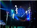 NH6543 : High - wire act at Moscow State Circus by sylvia duckworth