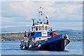 NM8540 : The Headcorn at Achnacroish harbour : Week 28