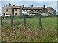 SE0833 : Houses off Black Dyke Lane by Christine Johnstone