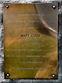 SD7513 : Matt Cobb Memorial Plaque by David Dixon