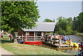 TQ6039 : Boat house, Dunorlan Park by N Chadwick