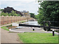 TQ1479 : Beside lock 92, Hanwell Locks by Oast House Archive