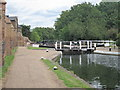 TQ1479 : Lock 93, Hanwell Locks by Oast House Archive