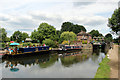 TL3806 : Lock, River Lee Navigation, Hoddesdon, Hertfordshire by Christine Matthews