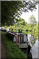 TL3706 : Nookie Bare, Narrowboat, River Lee Navigation by Christine Matthews
