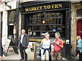 NZ2742 : Market Tavern with tourists outside by rob bishop