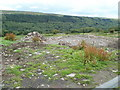 SO2507 : Rubble alongside Varteg Road south of Blaenavon by John Grayson