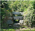 SW5236 : Stile north-east of Trencrom by Graham Horn
